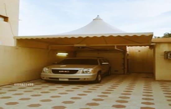 مظلات سيارات الظهران