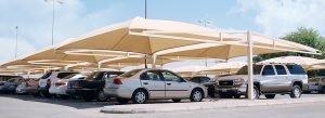 مظلات سيارات وسواتر الزلفي
